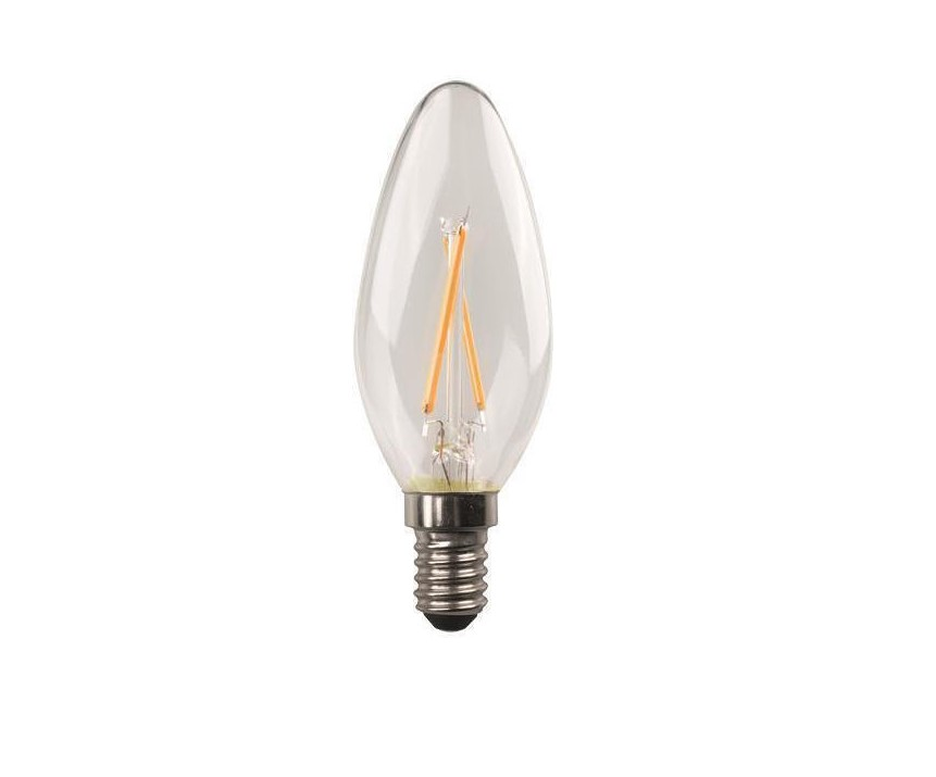 Λάμπα LED Filament Crossed C37 E14 4.5W 2700K 220-240V 78131